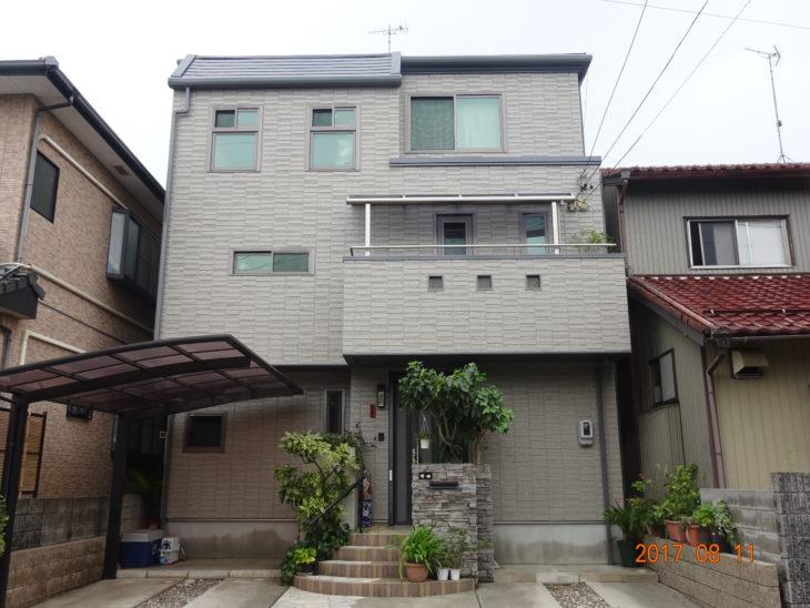 羽島群笠松町 N様邸 外壁・屋根塗装事例