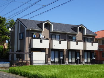 羽島市竹鼻町 Bアパート様 外壁塗装事例