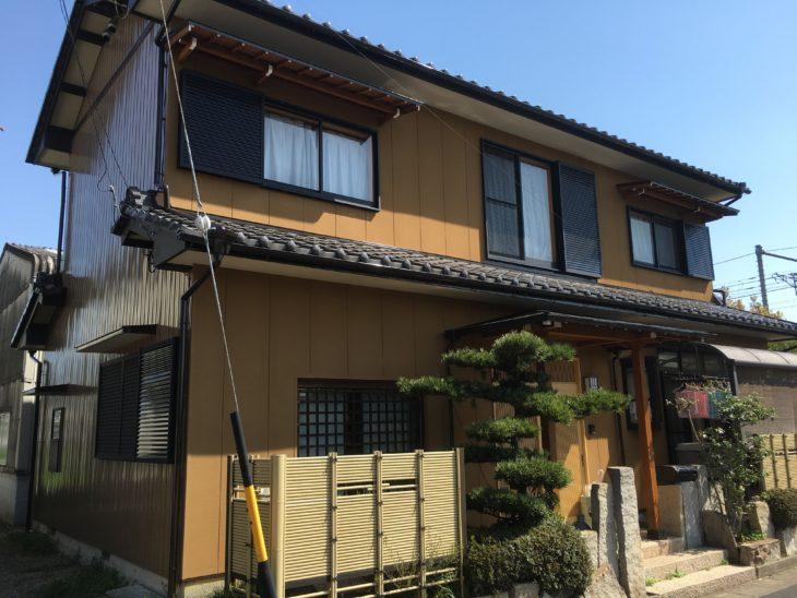 一宮市北方町(愛知) K様邸 外壁塗装事例