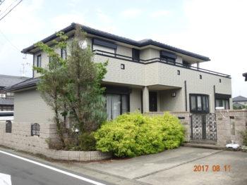 羽島市上中町 へーベルハウス N様邸 外壁塗装リフォーム