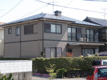 羽島市正木町 パナホーム I様邸 屋根塗装・外壁塗装