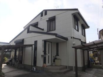 岐阜市又丸 セキスイハイム M様邸 屋根・外壁塗装リフォーム