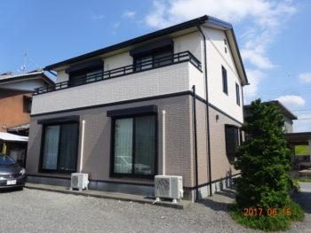 養老郡養老町(岐阜) トヨタホーム F様邸 屋根・外壁塗装