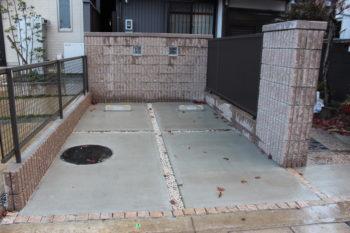 岐阜市 駐車場リフォーム 解体工事
