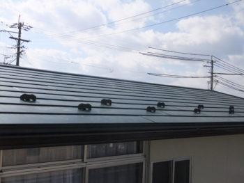 羽島市小熊町 S様 断熱屋根ルーフにリフォーム 外壁塗装