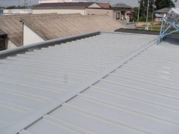 羽島市 S様 さん葺き屋根トタン カバー工法リフォーム