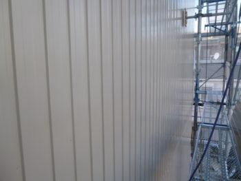 岐阜市 T様 外壁ガルバ二ウム鋼板カバー工法 外壁塗装