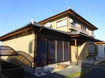 羽島市 和風の家 N様  外壁塗装工事