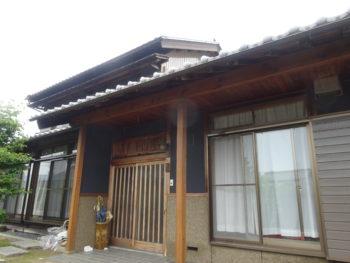 羽島市 和風の家 H様  外壁塗装、軒樋交換リフォーム