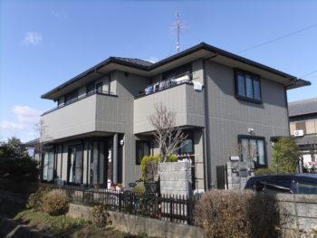 羽島市上中町(岐阜) セキスイハウス O様 (ハウスメーカー)塗装