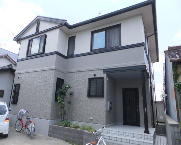 岐阜市(岐阜)ダイワハウス I様 (ハウスメーカー)屋根、外壁塗装