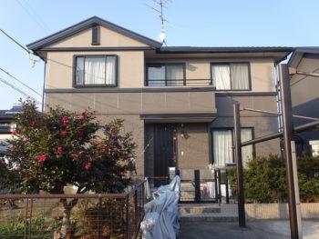 羽島市足近町(岐阜)ダイワハウス Y様(ハウスメーカー)屋根・外壁塗装