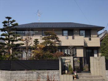 羽島市江吉良町(岐阜)ダイワハウス W様(ハウスメーカー)外壁 屋根塗装リフォーム