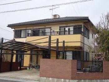 羽島市福寿町(岐阜)パナホーム S様(ハウスメーカー)外壁塗替え