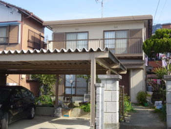羽島市(岐阜)パナホーム K様(ハウスメーカー)屋根・外壁塗装(有)ペンテック