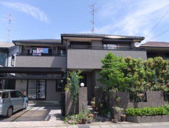 岐阜市河渡町 ミサワホーム I様(ハウスメーカー)屋根・外壁塗装工事