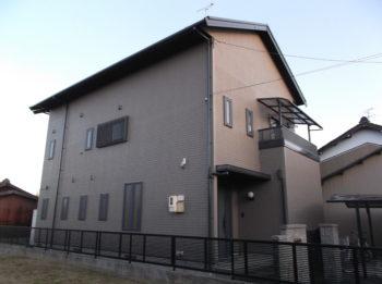 羽島市江吉良町(岐阜)ミサワホーム K様(ハウスメーカー)外壁塗装