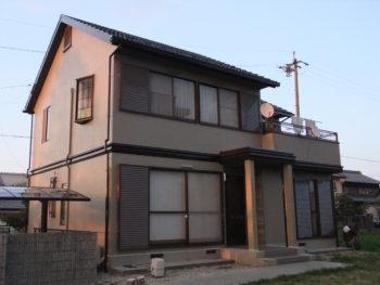 羽島市正木町(岐阜)トヨタホーム K様(ハウスメーカー)塗装リフォーム