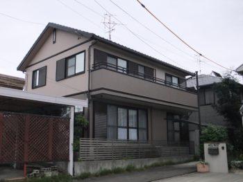羽島市正木町(岐阜)トヨタホーム S様(ハウスメーカー)塗装工事