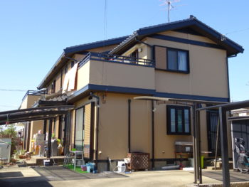 羽島市正木町(岐阜)セキスイハイム T様(ハウスメーカー)塗装リフォーム