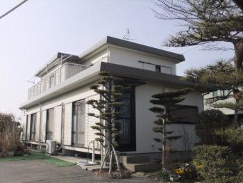 羽島市上中町(岐阜)セキスイハイム K様(ハウスメーカー)外壁塗装