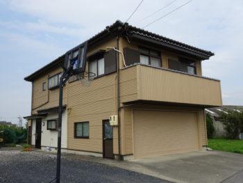 安八郡輪之内町(岐阜)スレート外壁のお家 Y様 塗装リフォーム