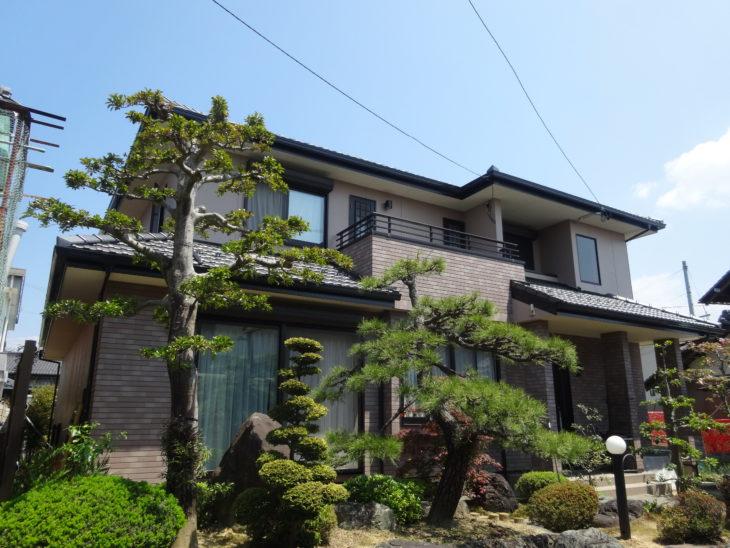 羽島市(岐阜)東日本ハウス I様(ハウスメーカー)外壁塗装